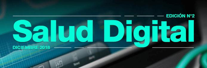 Encabezado de revista salud digital