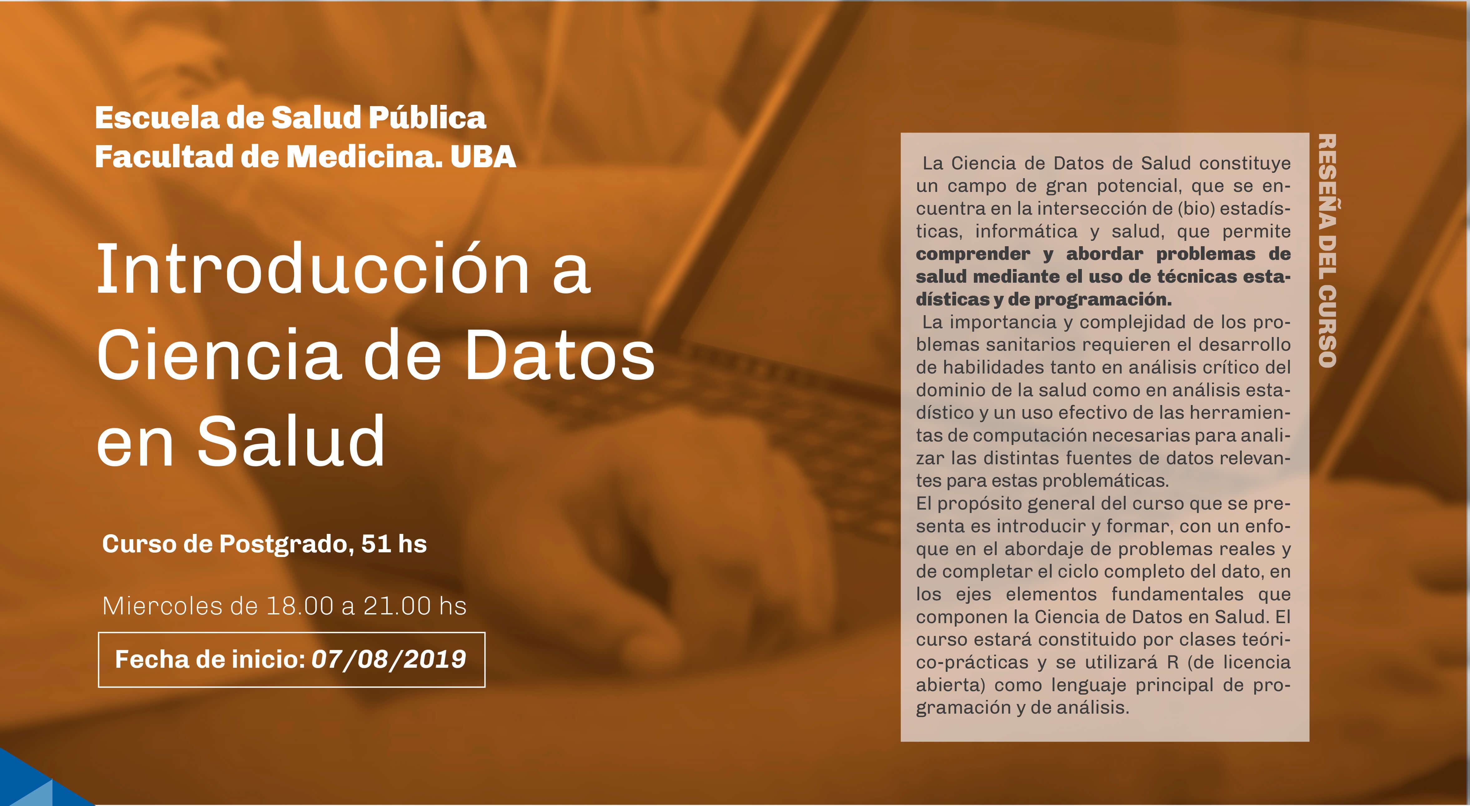 Posgrado de Ciencia de Datos en Salud